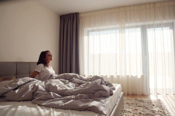 dormitor casa de lux